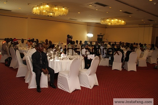 Forex clients at instafxng Lunch at Sheraton