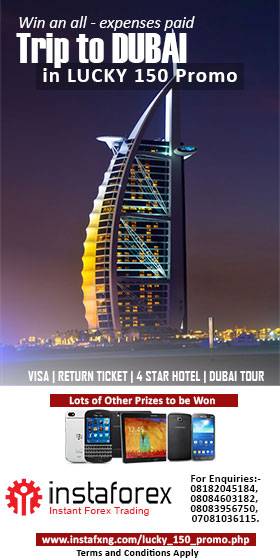 Win an all expense paid trip to Dubai with InstaFxNg