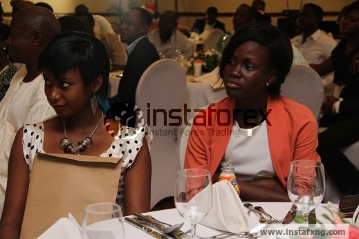 Forex guests at Instafxng Lunch at Sheraton Hotels
